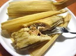 The tamales are done when the Masa Dough around the meat feels firm there...