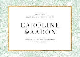 Caroline & Aaron's Wedding - Save the Date item
