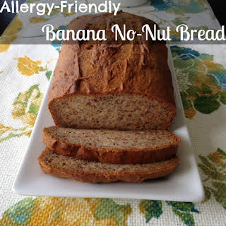 Allergy-Friendly Banana No-Nut Bread.