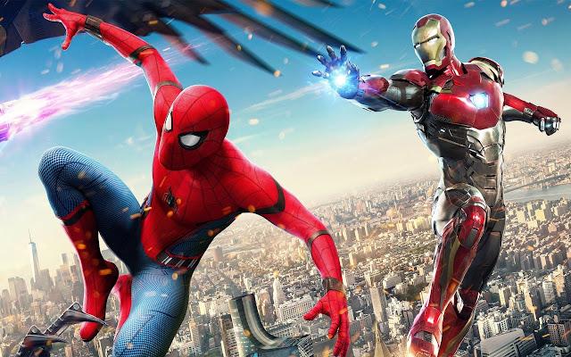 Iron Man-Spider Man 4K - Chrome Web Store