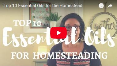 essential oils for homesteading