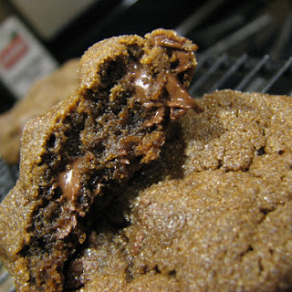 Chewy Chocolate Gingerbread Cookies.