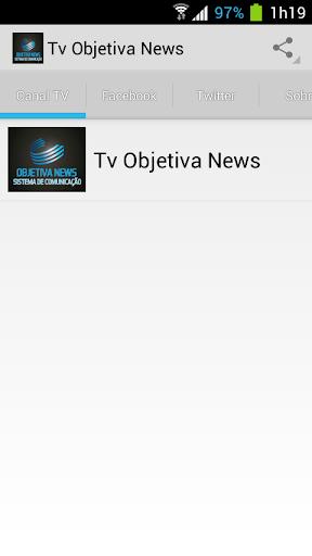 TV OBJETIVA NEWS