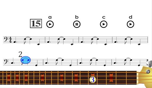 Learn to play Bass Guitar PRO Aplicaciones para Android screenshot