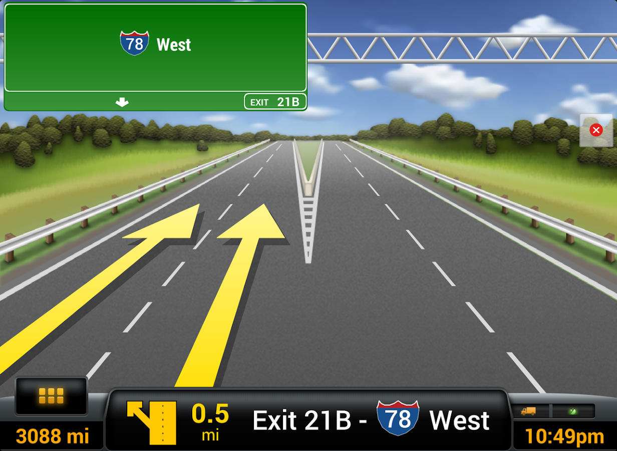 CoPilot Truck USA & CAN - GPS- screenshot
