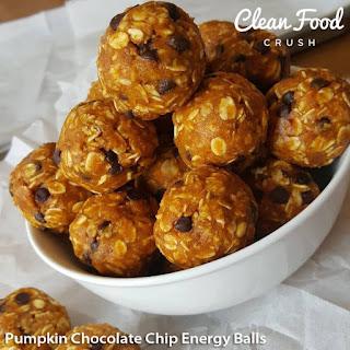 Pumpkin Chocolate Chip Energy Balls
