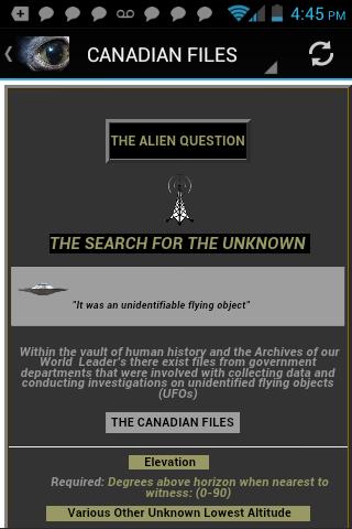 THE ALIEN QUESTION