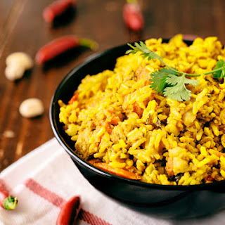Vegetarian Biryani.