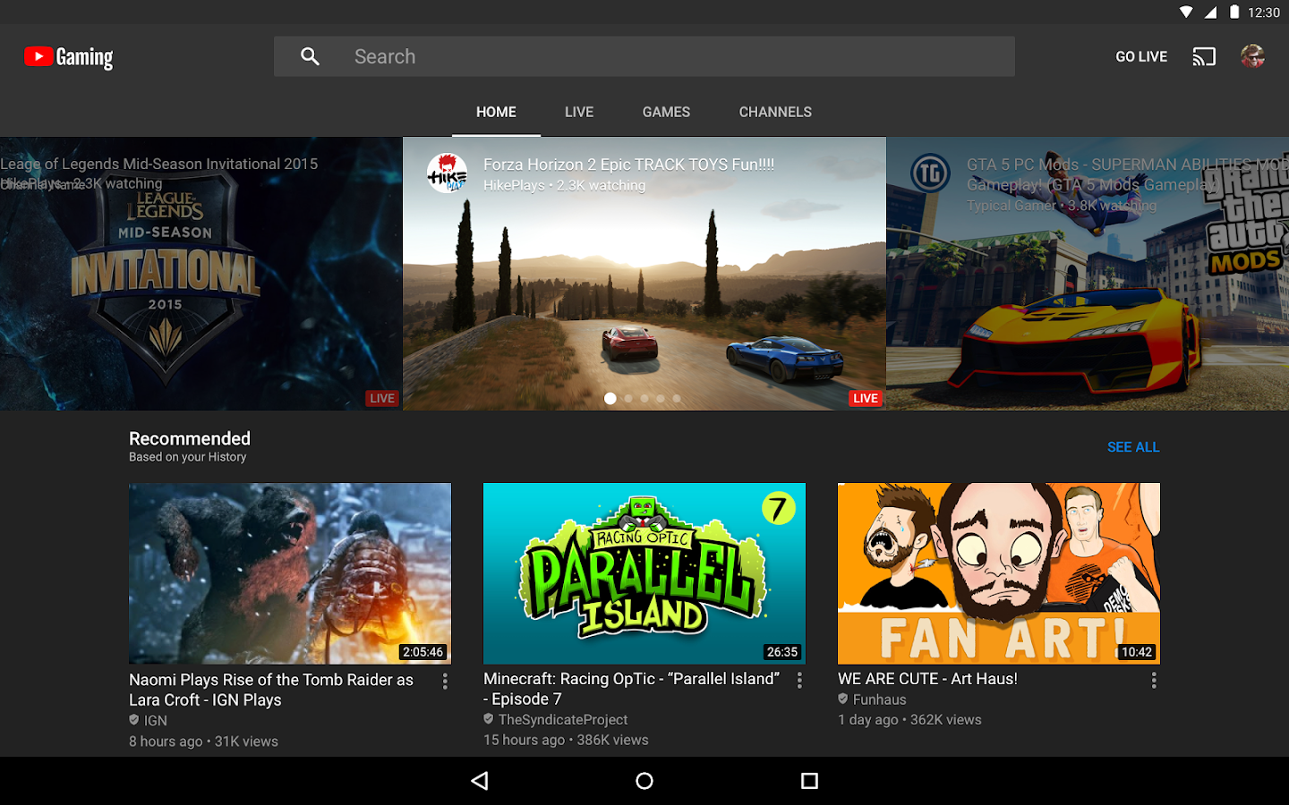 YouTube Gaming Android Apps On Google Play - 42 epic moments captured just at the right time