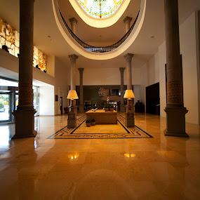 Hotel at Puebla by Cristobal Garciaferro Rubio - Buildings & Architecture Other Interior ( reflection, presidente, mexico, puebla, hotel )