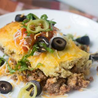 Mexican Cornbread Casserole (Low Carb, Gluten Free).