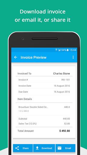 Free Invoice Generator - Zoho by Zoho Corporation (Google