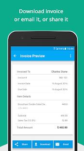 Free Invoice Generator Zoho Apps On Google Play - Invoice simple apk cracked