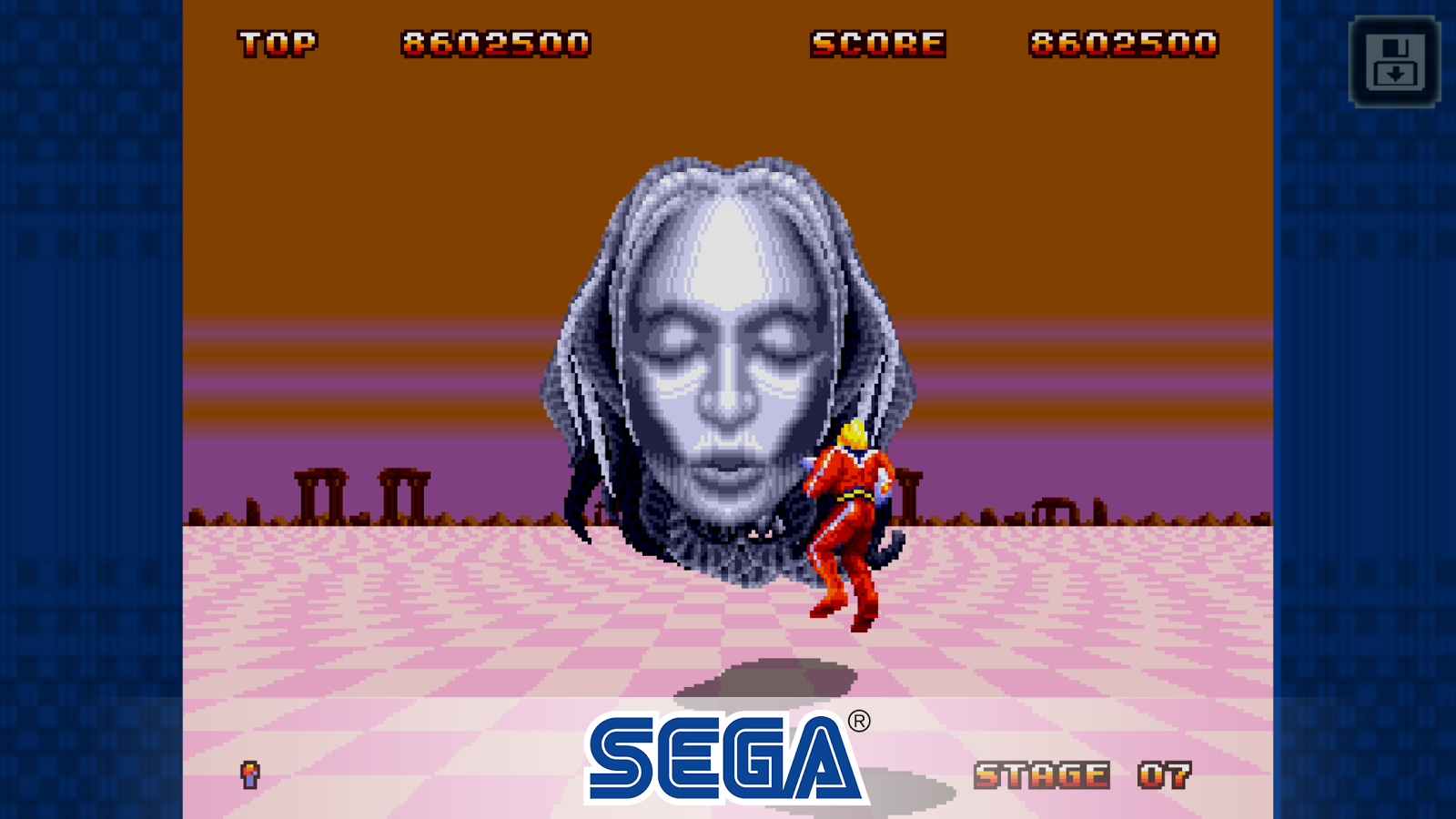 Space Harrier II Classic- screenshot
