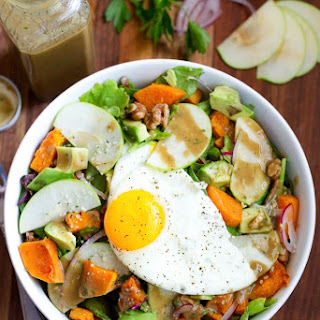Fall Harvest Breakfast Salad