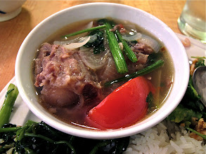 Photo: a bowl of southern Thai-style oxtail soup