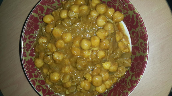 Chola(veg Chickpea) Recipe