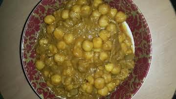 Chola(veg chickpea)