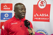 SuperSport United  coach Kaitano Tembo.