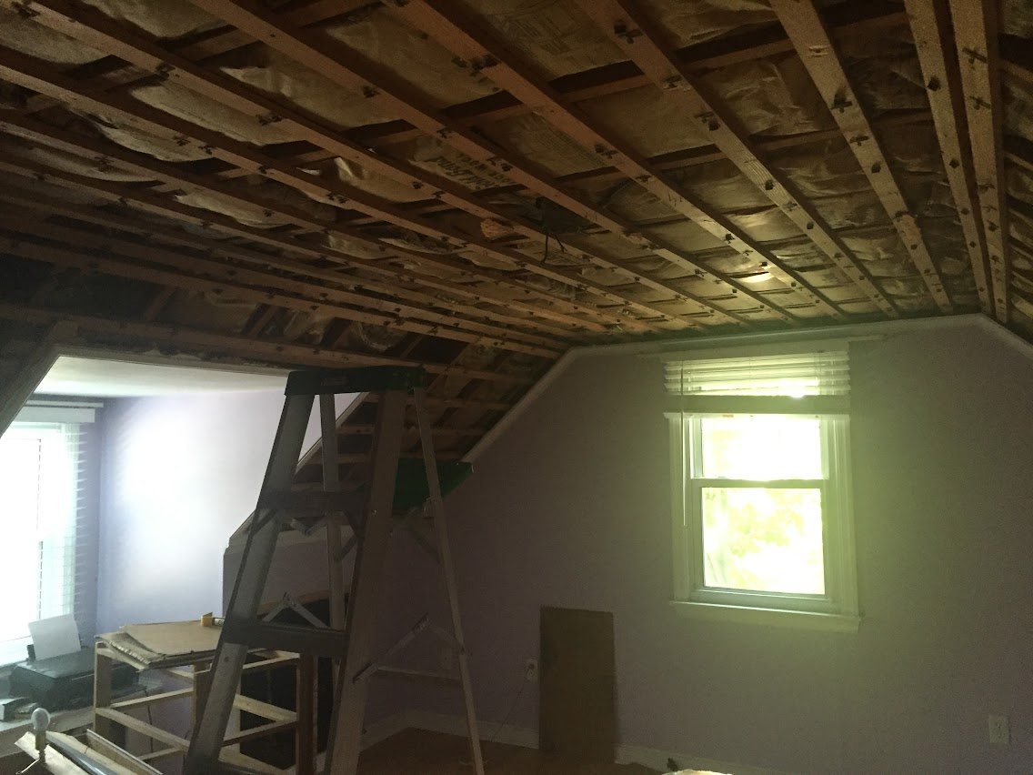 Torn Insulation In Attic Knee Wall Insulation Diy