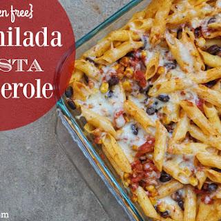 {gluten free} Enchilada Pasta Casserole.