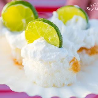 Four Ingredient Key Lime Shortcakes