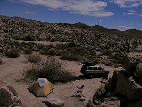 Photo: Camp at Sheep Corral