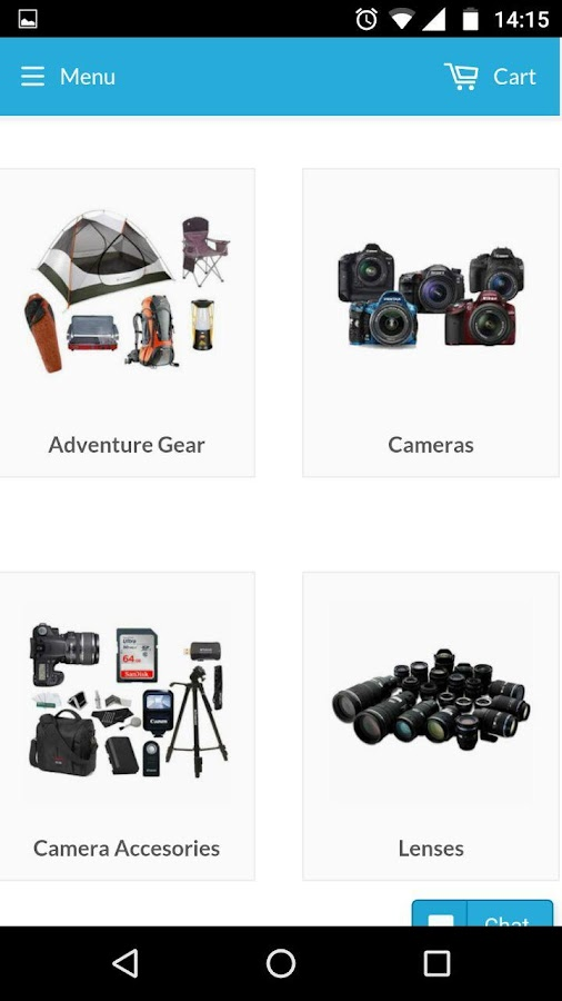 wlend Rent Camera Camping gear- screenshot