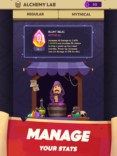 Almost a Hero - Idle RPG Clicker - screenshot