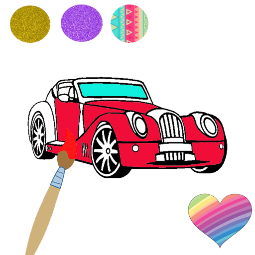 Car Coloring Pages Easy Coloring For Kids Google Play De