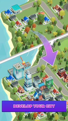 Idle Delivery City Tycoon: Cargo Transit Empire apkmr screenshots 5