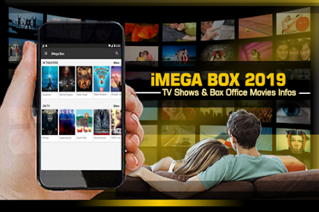 iMega Box – TV Show & Box Office Movie 2019 App Download For Android 1