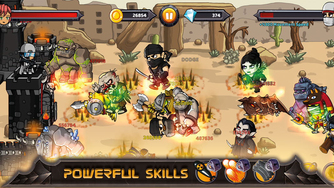 Castle Defenders - Defense Game