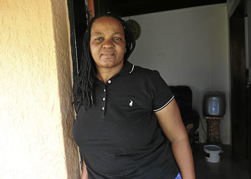 Lorcadia Kheswa, 52, from Orlando West in Soweto./ veli Nhlapo