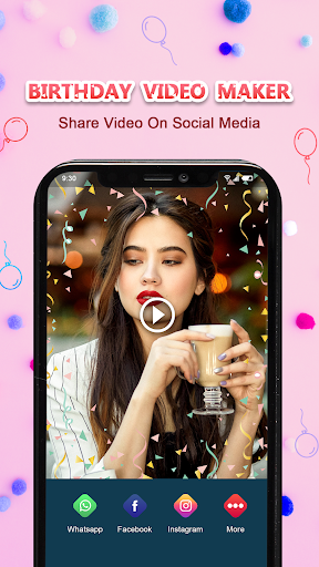 Birthday Video Maker with Song and Name screenshot 6