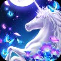 Graceful Unicorn Live Wallpaper icon