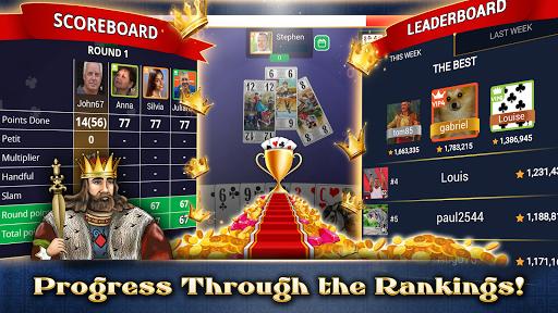 VIP Tarot - Free French Tarot Online Card Game 3.6.17 screenshots 6