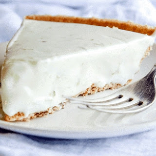 No Bake White Chocolate Lime Pie.