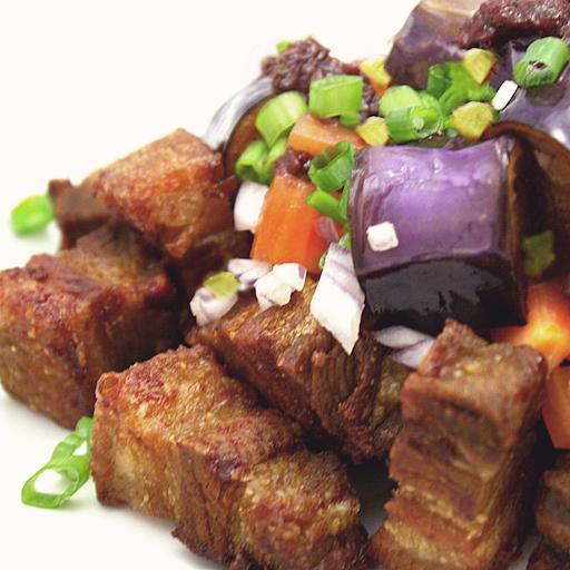 Crispy Pork Binagoongan Rice Combo