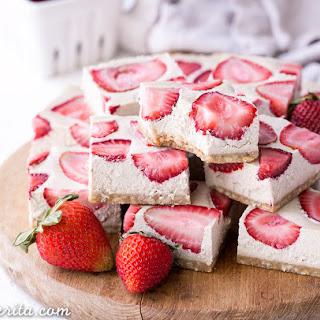 Strawberry Shortcake Bars (Gluten Free, Paleo + Vegan) Recipe
