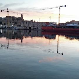 Malta crane by Ar Jay - Novices Only Objects & Still Life