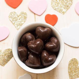 Homemade Dark Chocolate Hearts 3 Ways