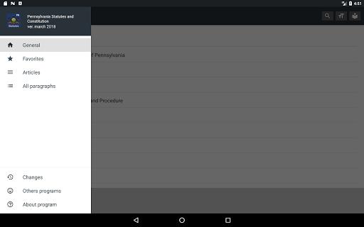 Pennsylvania Statutes 2018 (all free offline) 0.01 screenshots 9
