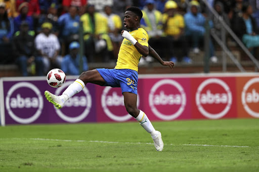 Phakamani Mahlambi of Mamelodi Sundowns.