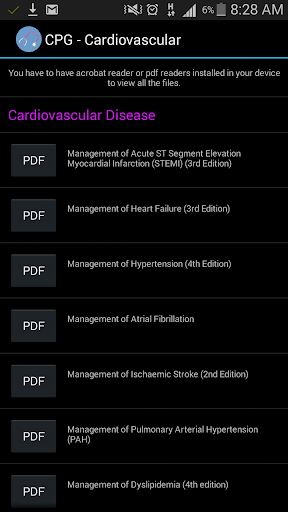 CPG Cardiovascular Management
