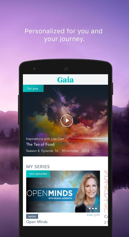 Gaia- screenshot