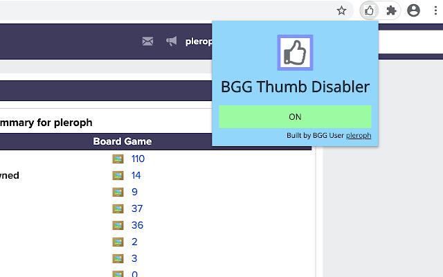 BGG Thumb Remover