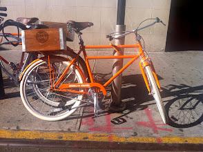 Photo: Orange Bike