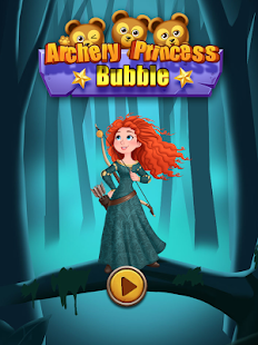 Archery Princess Bubble - náhled