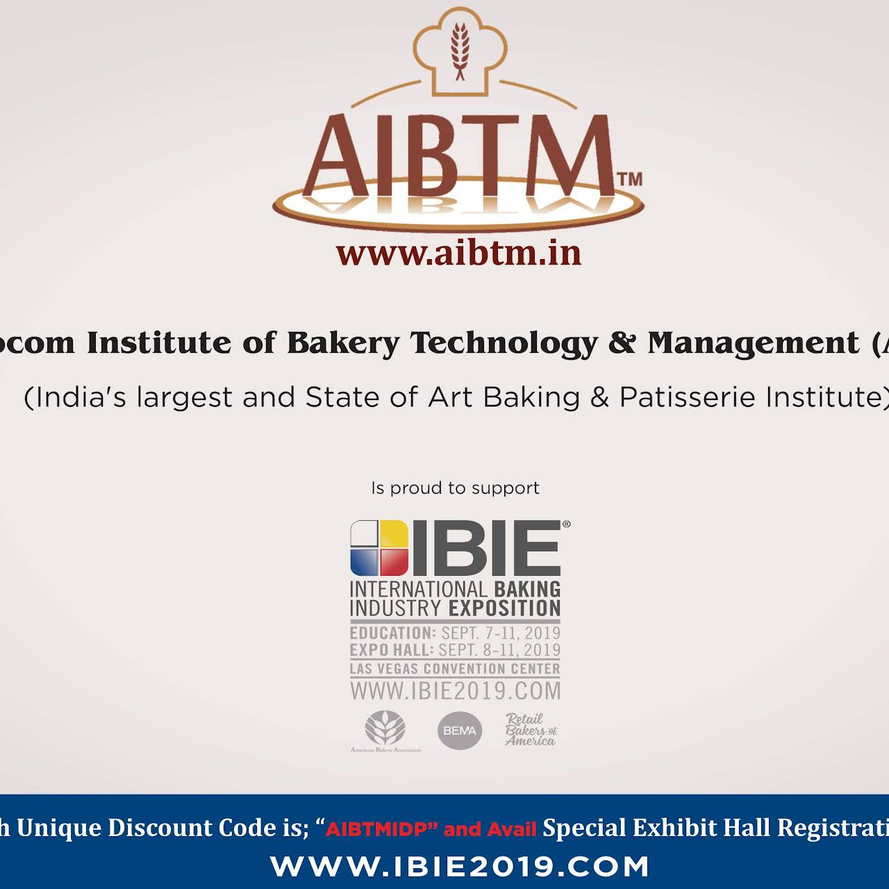 Assocom Institute of Bakery Technology and Management (AIBTM